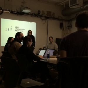 Lean LaunchPad at NYU ITP